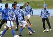 گزارش تمرین استقلال| صحبتهای شفر و حلقه اتحاد بازیکنان