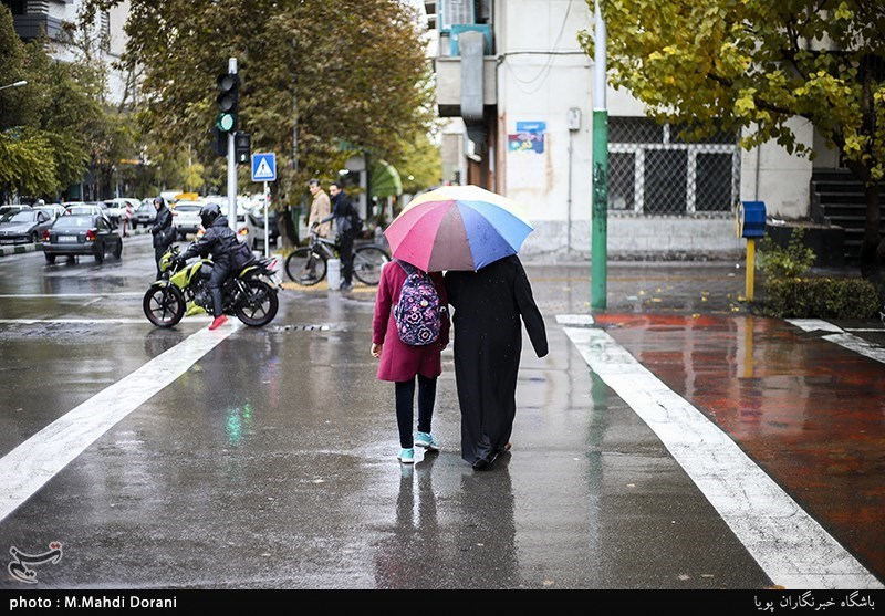 آخرین وضعیت بارشهای ایران/ادامه پربارانی آذر+جدول