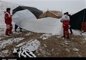 لرستان| 41 خانوار عشایری گرفتار در برف نجات یافتند