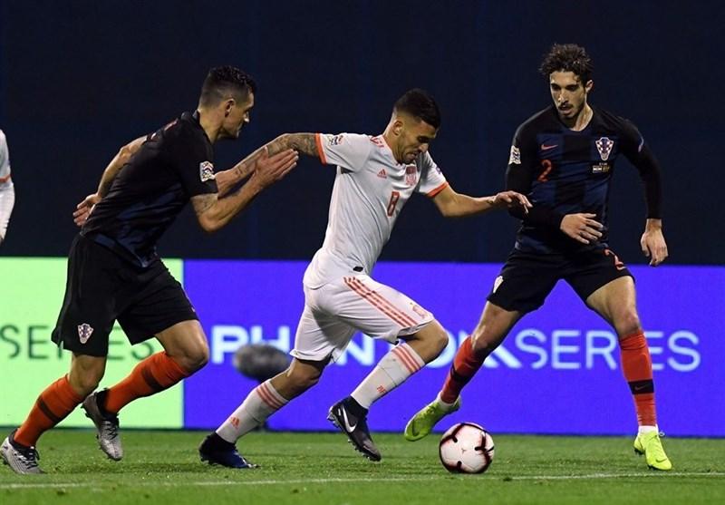 فوتبال جهان| کرواسی با گل ثانیههای پایانی موضع اسپانیا را به خطر انداخت/ بوسنی به لیگ A ملتهای اروپا صعود کرد