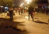 درگیریهای شدید بین پلیس و شهروندان الجزایری