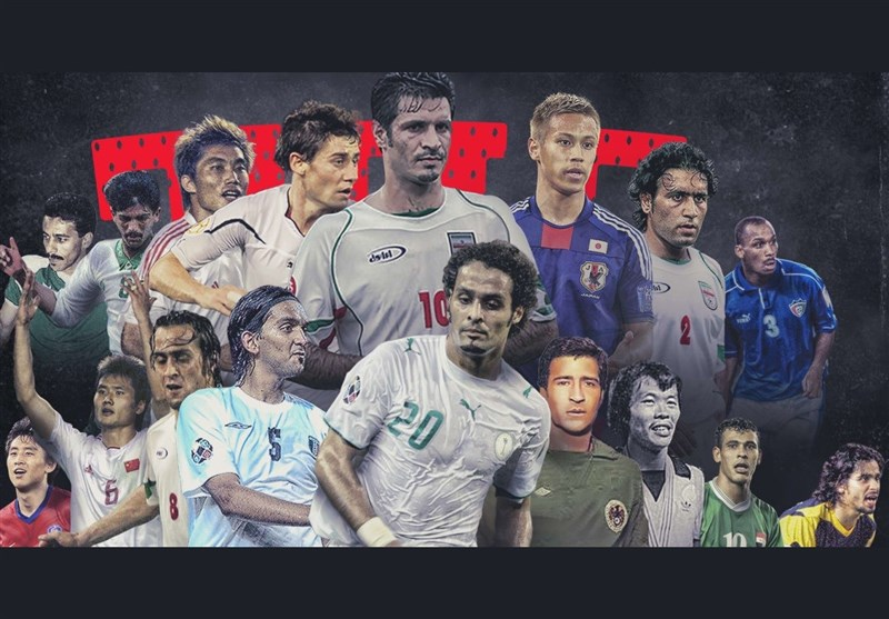 Four Iranian Players at AFC Fans' Best XI
