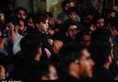 قم| مراسم عزاداری شهادت امام حسن عسکری(ع) در مسجد جمکران به روایت تصویر