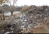 زبالههای رها شده در رودخانههای منتهی به دریاچه ارومیه به روایت تصویر