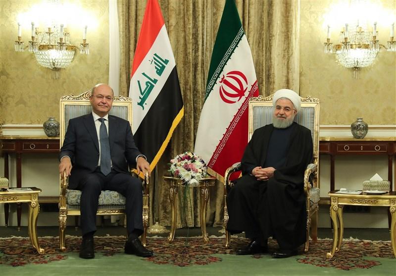 برهم صالح: برای عراق اصول ثابت در روابط با ایران مهم است