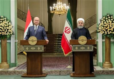 روحانی: روابط تجاری ایران و عراق 20 میلیارد دلار میشود/ برهم صالح شخصا موضوع ریزگرد را پیگیری میکند