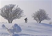 بارش برف در 22 استان ترکیه + عکس
