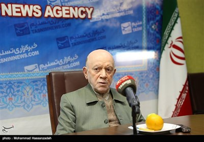 محمدنبی حبیبی حضور دبیرکل حزب مؤتلفه اسلامی در خبرگزاری تسنیم