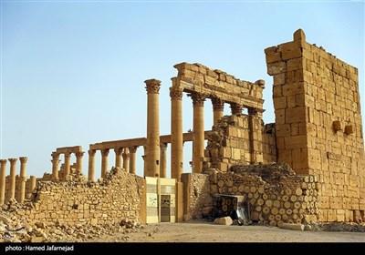 معبد تاریخی 2000 ساله «بعل شامین» در شهر پالمیرا سوریه پس از انفجار و حمله داعش در سال2015