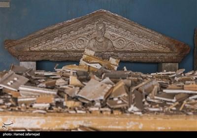 تخریب آثار تاریخی و باستانی موزه پالمیرا توسط تروریست های داعش