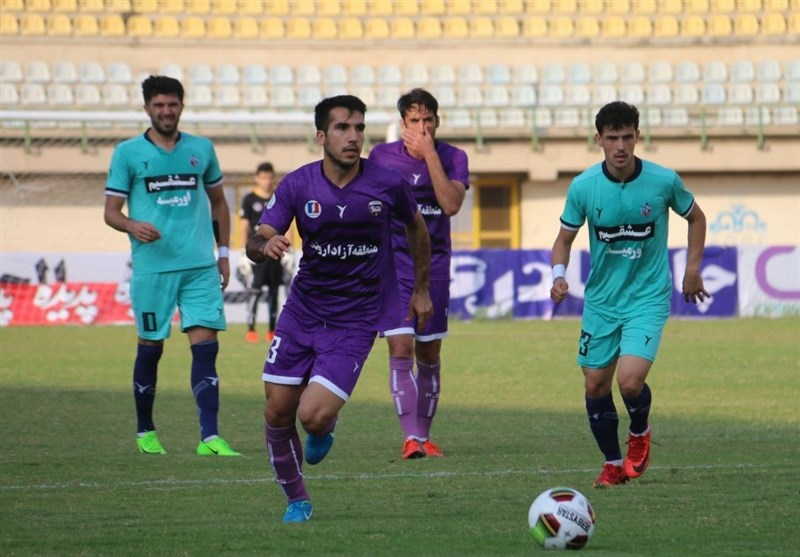 لیگ دسته اول فوتبال| صعود گل ریحان به جایگاه سوم با شکست کارون اروند خرمشهر