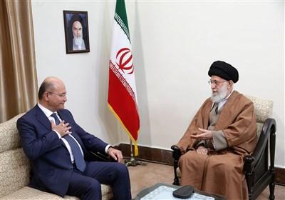 """امام خامنهای: باید """"حشدالشعبی"""" را حفظ کرد/ مقابل دشمنان با قدرت بایستید"""