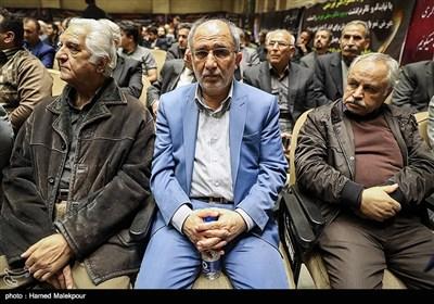 سردار حسین علایی در مراسم ختم مدیرعامل و معاون سازمان تأمین اجتماعی