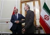 ایران اور عراق کے درمیان لازوال تعلقات قائم ہیں، علی لاریجانی