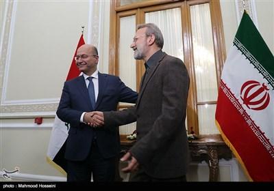 ایران اور عراق کے درمیان لازوال تعلقات قائم ہے، علی لاریجانی