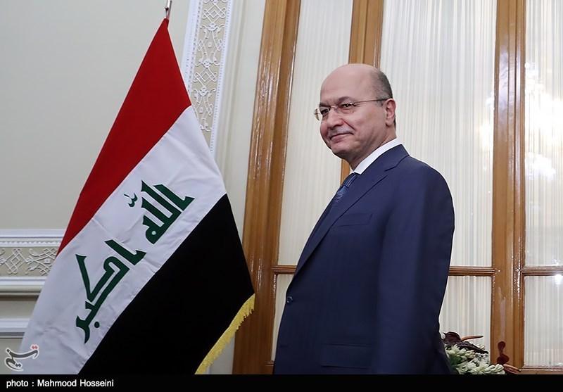 رئیسجمهور عراق: نمیخواهیم کشورمان به میدان جنگ علیه دیگر کشورها تبدیل شود