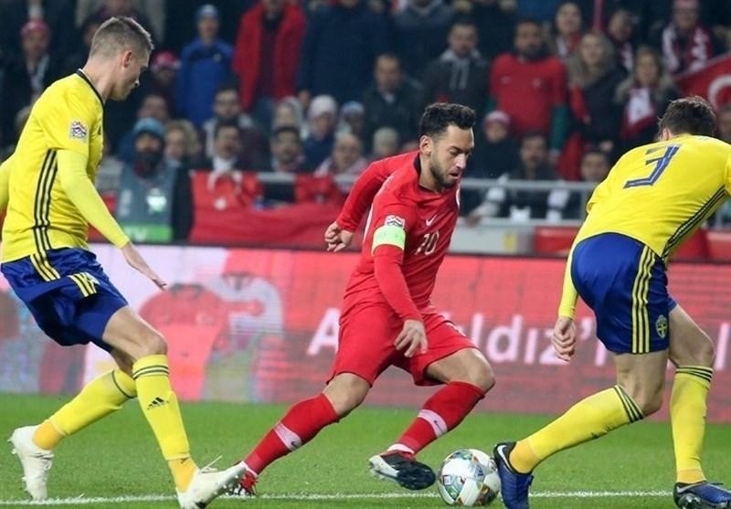 فوتبال جهان|ترکیه به لیگ C سقوط کرد، سوئد به صعود امیدوار شد