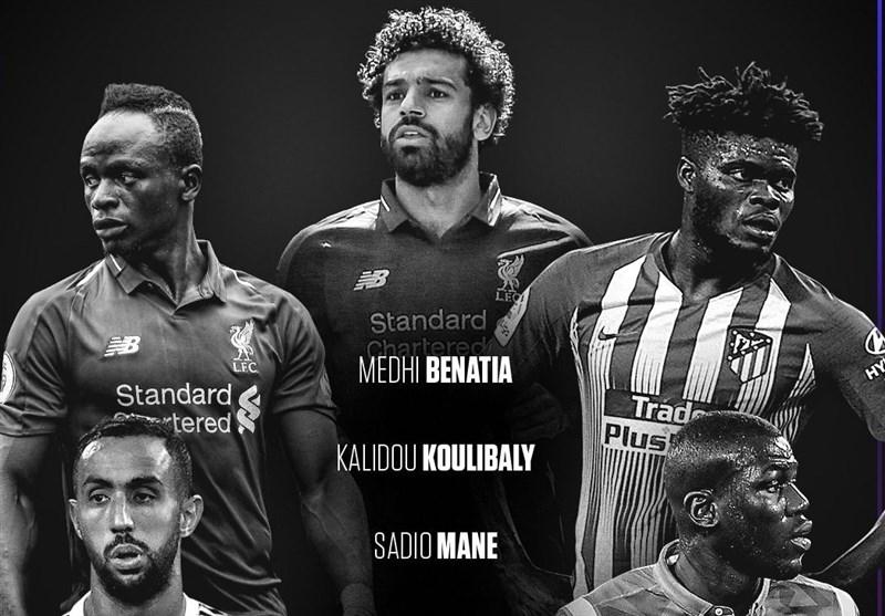 اعلام اسامی 30 نامزد جایزه بهترین بازیکن سال آفریقا