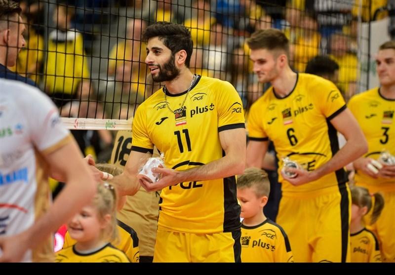 ملیپوشان والیبال ایران به لهستان رسیدند+ عکس