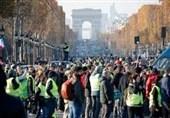 ادامه اعتراضات در فرانسه در مخالفت با افزایش مالیات سوخت