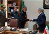 دیدار دریادار سیاری و نوبخت درباره بودجه ارتش