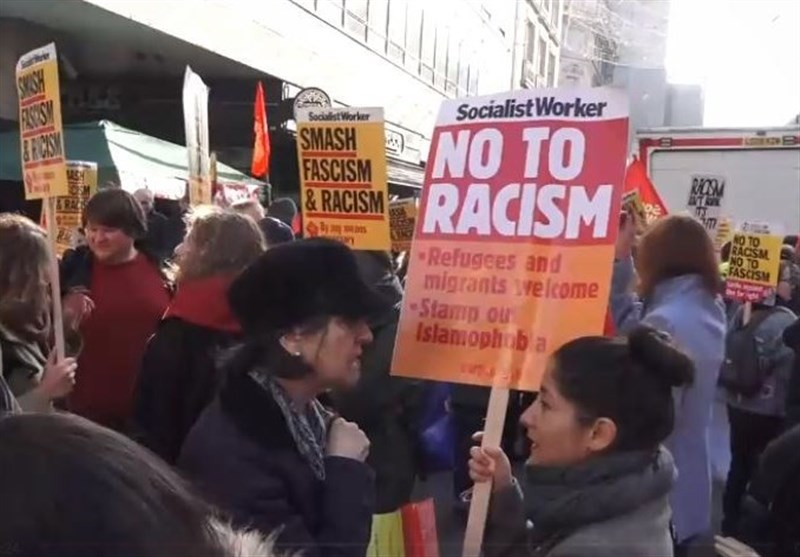 Hundreds Gather outside BBC's London HQ to Protest against Racism (+Video)