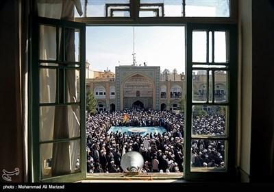 تجمع طلاب حوزه علمیه قم در حمایت از مردم یمن