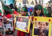 «روز شهید» به روایت کودکان مقاومت لبنان + تصاویر