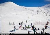 ارتفاع برف برای بازگشایی پیست اسکی همدان کافی نیست