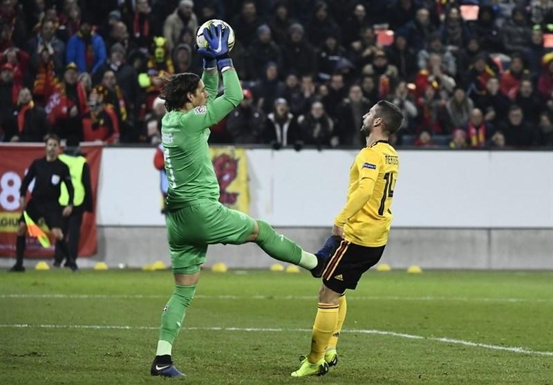 فوتبال جهان| سوئیس با برتری قاطعانه مقابل بلژیک به نیمه نهایی لیگ ملتهای اروپا راه یافت