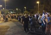 گسترش تظاهرات در شهرکهای صهیونیستنشین اطراف غزه علیه نتانیاهو