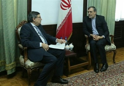 UN Official, Iranian Diplomat Hold Talks in Tehran
