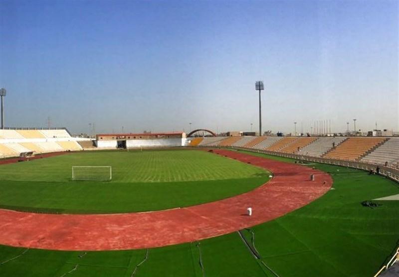 ورزشگاه شهید مهدوی بوشهر تا روز سهشنبه آماده میشود