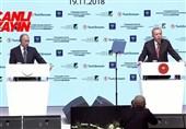 افتتاح ترک استریم با حضور پوتین و اردوغان در استانبول
