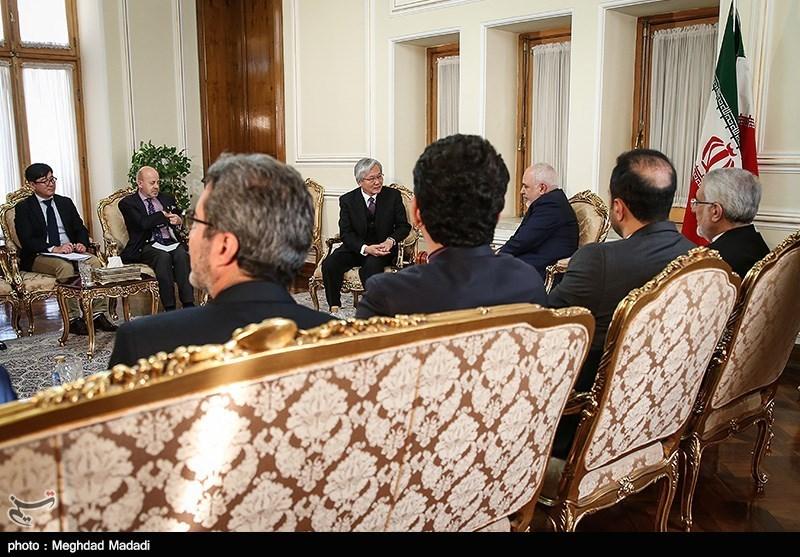 دیدار نماینده سازمان ملل در امور افغانستان با ظریف