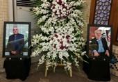 مراسم بزرگداشت مدیرعامل فقید سازمان تامین اجتماعی در گرگان+تصاویر