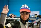 رکورد شکنی فاطمه کرمزاده در هفته دوم لیگ برتر تیراندازی بانوان