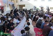 ادامه روند خدمترسانی آستان قدس رضوی به زائران پاکستانی در مرز میرجاوه