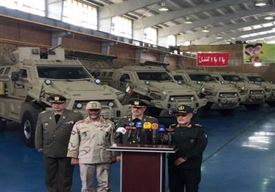 Iran Unveils New Military Vehicle