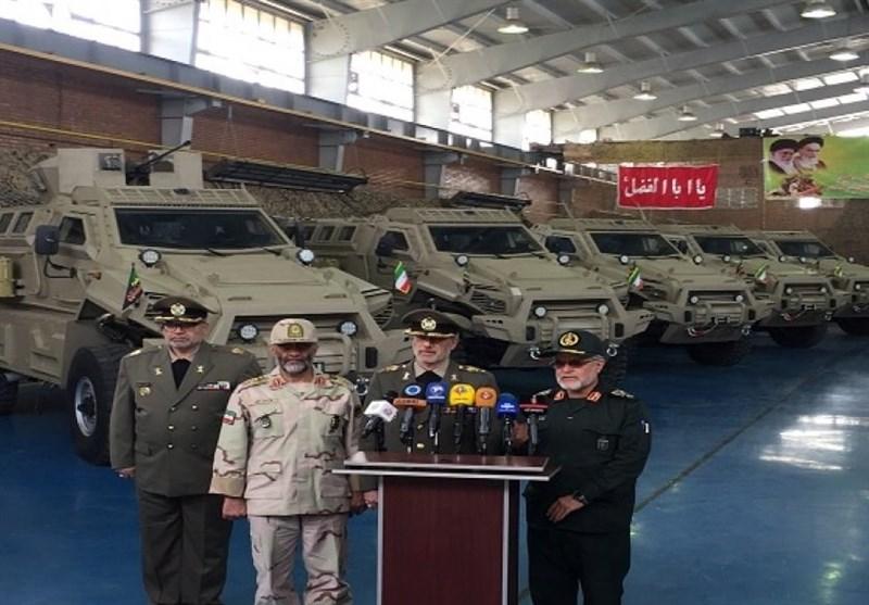 Iran Unveils New Military Vehicle