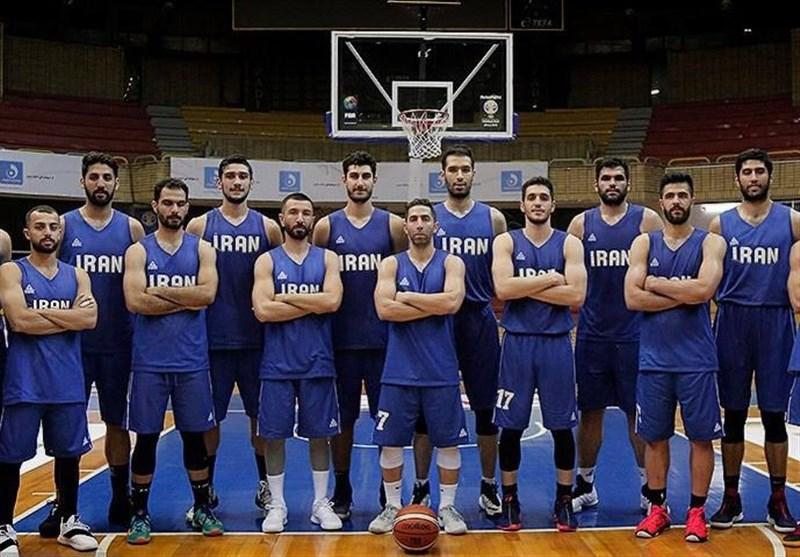 پیروزی تیم ملی بسکتبال ایران برابر قطر