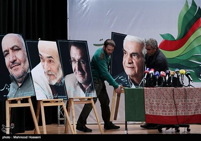 نشست خبری محمد خزاعی دبیر پانزدهمین جشنواره بین المللی فیلم مقاومت
