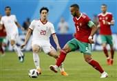 خاطره بنعطیه از تقابل مراکش با ایران در جام جهانی 2018
