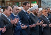 Syrian President Assad Joins Prayers on Prophet Muhammad's Birth Date (+Video)