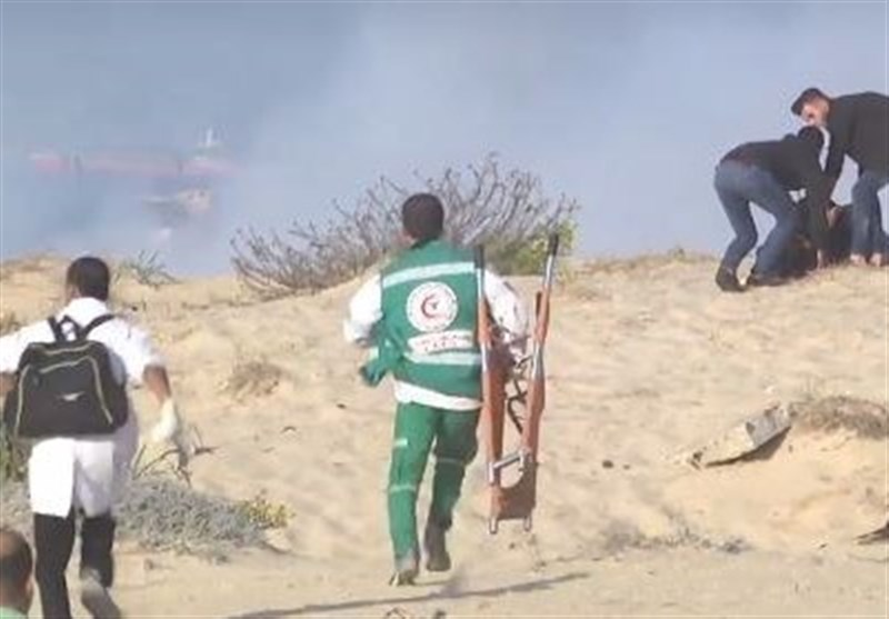 25 Palestinians Injured by Israeli Fire during Protest at Northern Gaza Border (+Video)