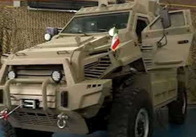 Video of Iran's Newly-Unveiled Toofan Armored Vehicle