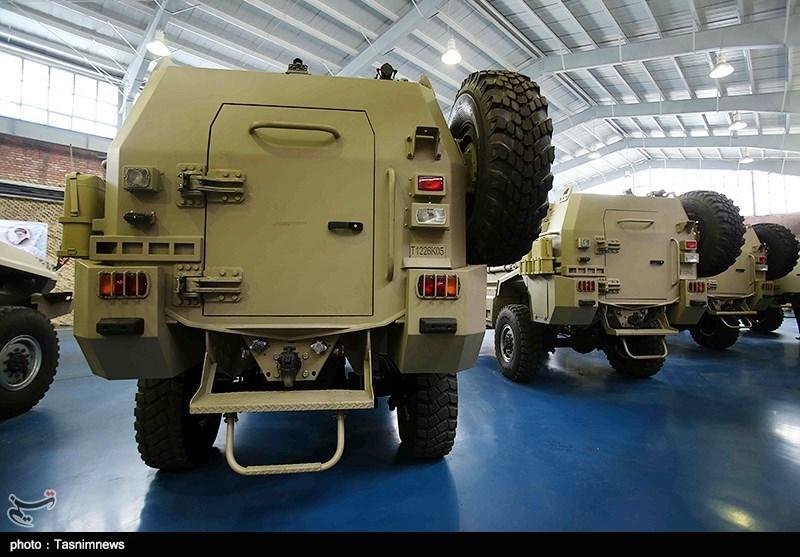 Photos: Iran unveils armored combat vehicle