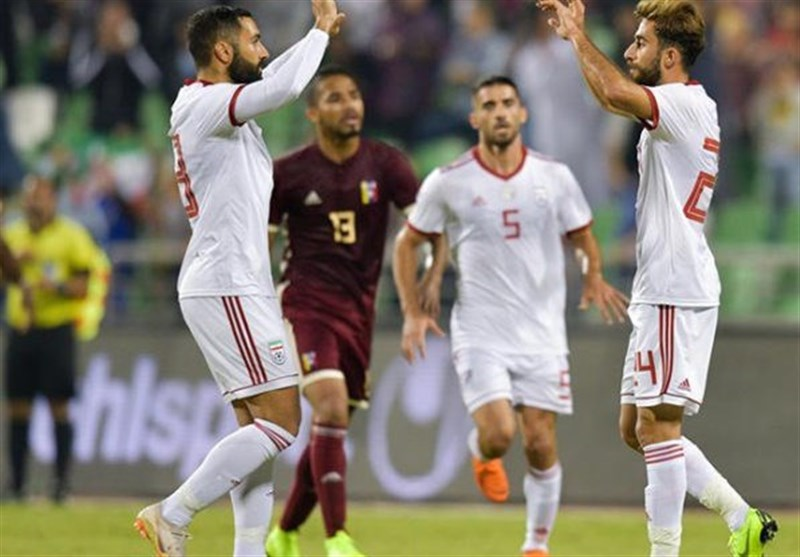 Friendly: Iran, Venezuela Play Out Stalemate