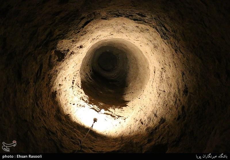 کشف نوعی سیستم پیچیده آبرسانی در یک شهرزیرزمینی ایران + تصویر