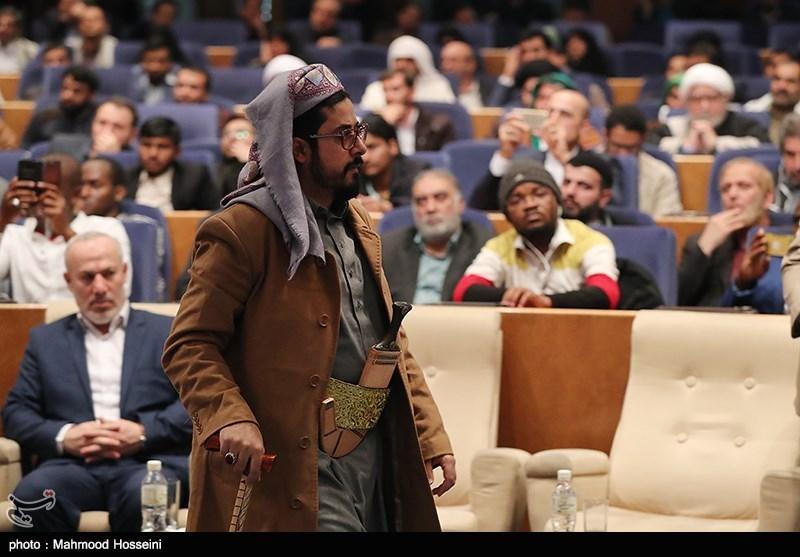 نماینده انصارالله یمن در همایش حمایت از مردم مظلوم یمن